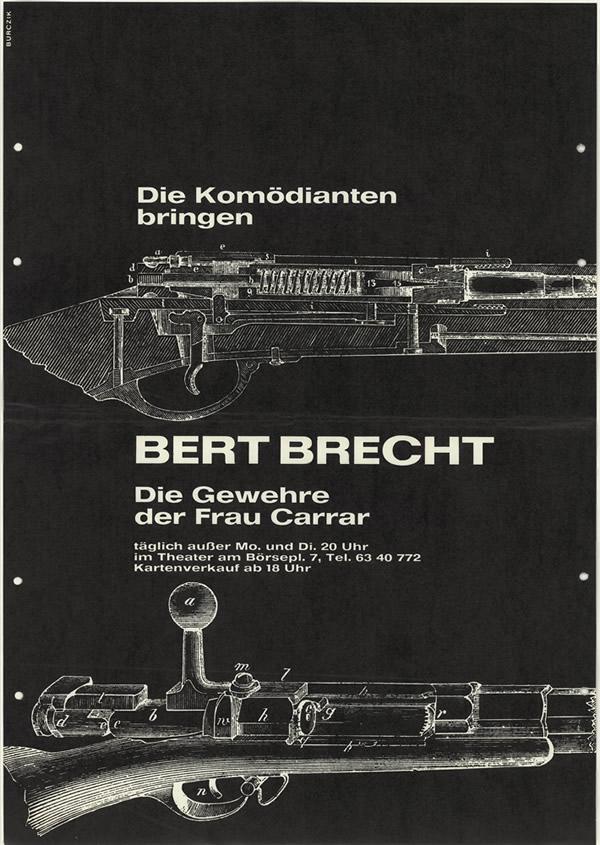 Brechtplakat C.H.Meyer